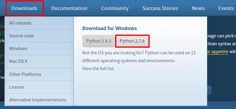 download python